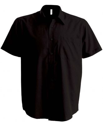 Chemise manches courtes Ace K551 - Brown