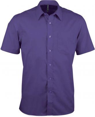 Chemise manches courtes Ace K551 - Purple