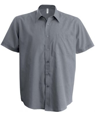 Chemise manches courtes Ace K551 - Silver