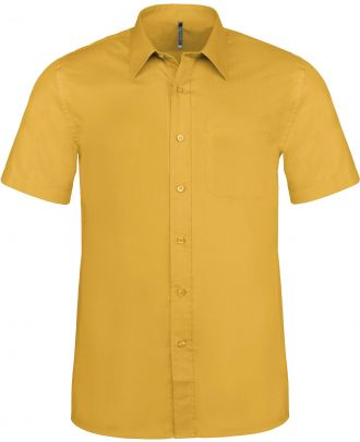 Chemise manches courtes Ace K551 - Yellow