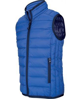 Doudoune légère sans manches enfant K6115- Light Royal Blue