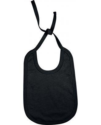 Bavoir bébé coton K832 - Black