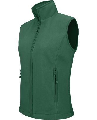 Gilet femme micropolaire Mélodie K906 - Forest Green
