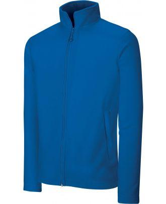 Veste micropolaire zippée K9102 - Royal Blue