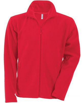 Veste enfant micropolaire zippée K920 - Red