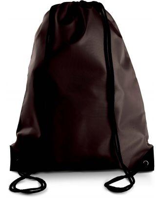 Sac à dos avec cordelettes KI0104 - Chocolate - 44 x 34 cm