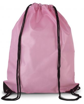 Sac à dos avec cordelettes KI0104 - Dark Pink - 44 x 34 cm