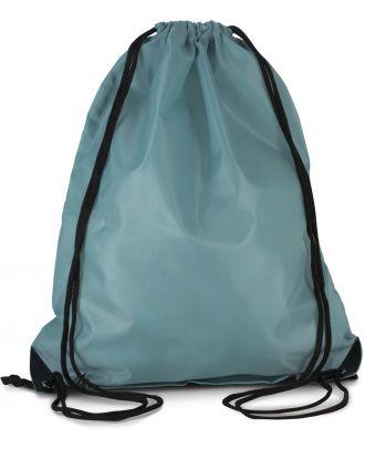 Sac à dos avec cordelettes KI0104 - DELPHINIUM BLUE - 44 x 34 cm