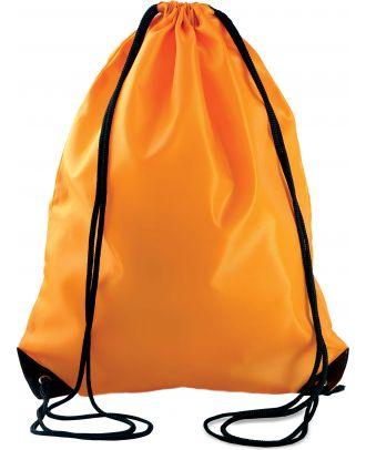 Sac à dos avec cordelettes KI0104 - Orange - 44 x 34 cm