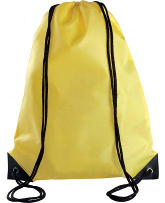 Sac à dos avec cordelettes KI0104 - Yellow - 44 x 34 cm