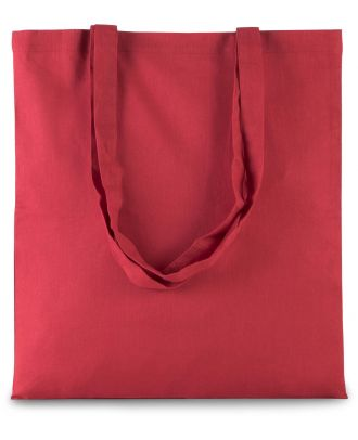 Sac tote bag shopping basic KI0223 - ARANDANO RED - 38 x 42 cm