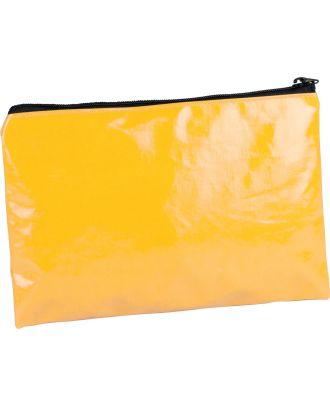 Pochette / étui en coton enduit personnalisable KI0714 - Yellow