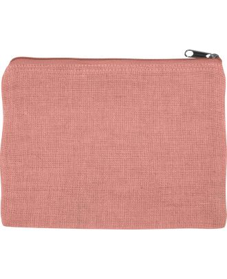 Pochette en juco personnalisable KI0723 - Dusty Pink