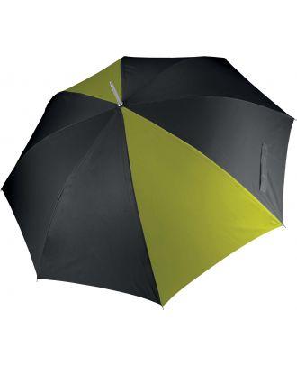 Parapluie de golf KI2007 - Black / Burnt Lime