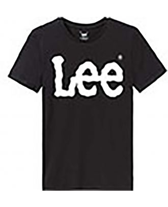 T-shirt homme logo LEE L62 - Black