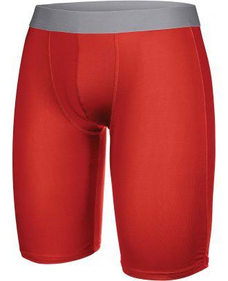 Sous-short long sport PA007 - Sporty Red