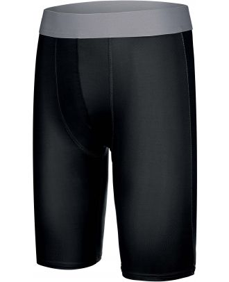 Sous-short long enfant sport PA008 - Black