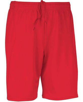 Short enfant de sport PA103 - Sporty Red