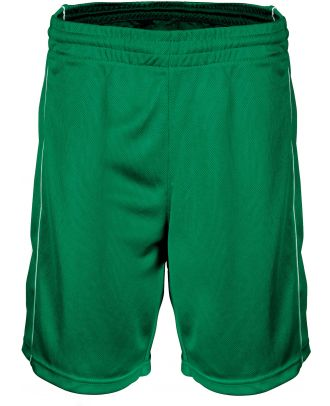 Short enfant Basket PA161 - Dark Kelly Green