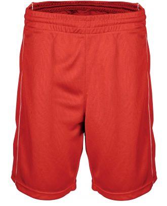 Short enfant Basket PA161 - Sporty Red