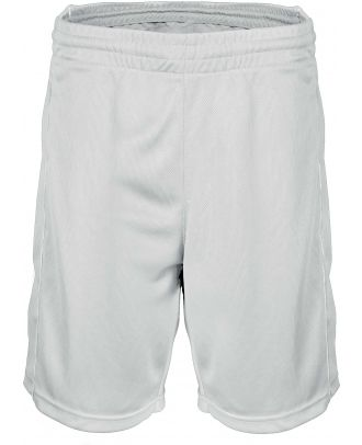 Short enfant Basket PA161 - White