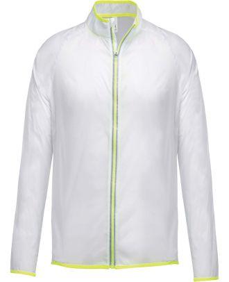 Blouson sport ultra léger PA232 - Transparent White