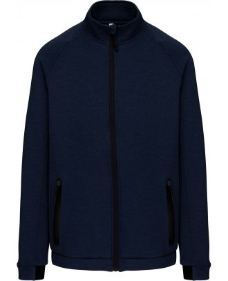 Veste col montant PA378 - French Navy Heather