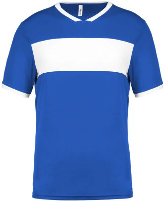 Maillot enfant polyester manches courtes PA4001 - Sporty Royal Blue / White