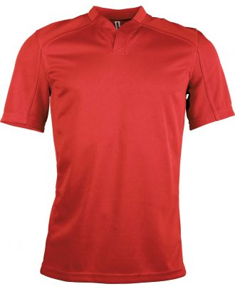 Maillot Rugby enfant bi-matière manches courtes PA428 - Sporty Red