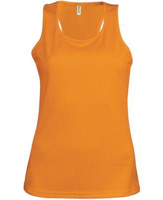 Débardeur femme sport PA442 - Orange