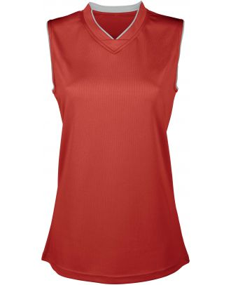 Maillot Basket-ball femme PA460 - Sporty Red