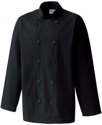 Veste de cuisine manches longues PR657 - Black