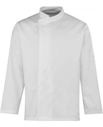 Tunique de cuisine manches longues PR669 - White