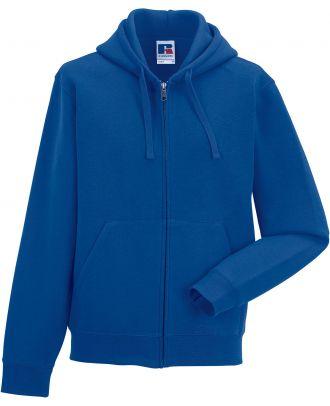 Sweat-shirt zippé capuche authentic RU266M - Bright Royal Blue