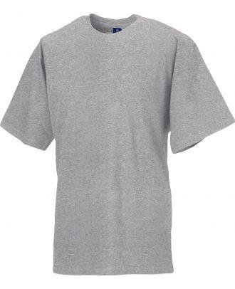 T-shirt col rond classic ZT180 - Light Oxford