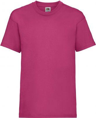 T-shirt enfant manches courtes Valueweight SC221B - Fuchsia