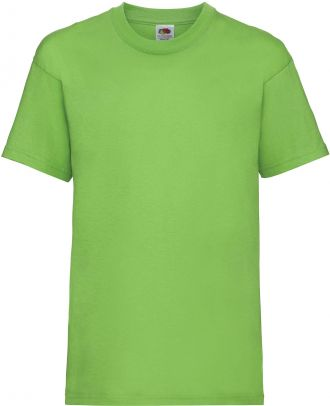 T-shirt enfant manches courtes Valueweight SC221B - Lime