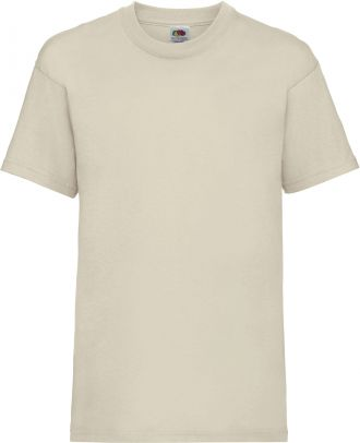 T-shirt enfant manches courtes Valueweight SC221B - Natural
