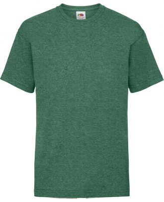 T-shirt enfant manches courtes Valueweight SC221B - Retro Heather Green