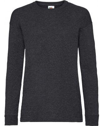 T-shirt enfant manches longues valueweight SC61007 - Dark Heather Grey