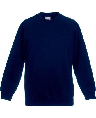 Sweat-shirt enfant manches raglan SC62039 - Deep Navy