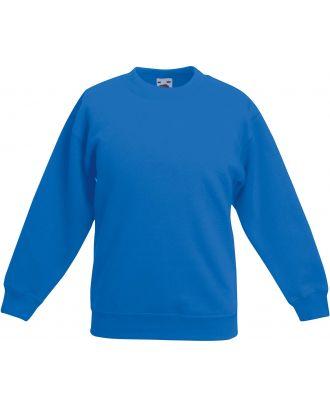 Sweat-shirt enfant col rond classic SC62041 - Royal Blue
