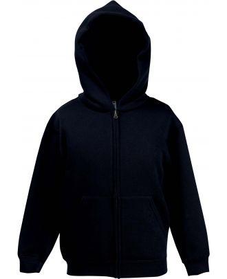 Sweat-shirt enfant zippé à capuche classic SC62045 - Black