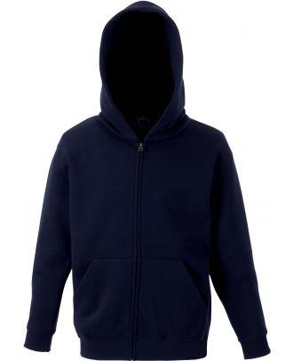 Sweat-shirt enfant zippé à capuche classic SC62045 - Deep Navy