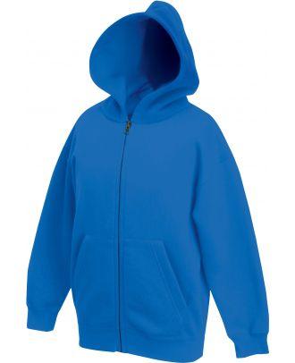 Sweat-shirt enfant zippé à capuche classic SC62045 - Royal Blue