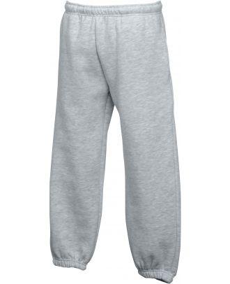 Pantalon jogging enfant bas élastiqué SC64051 - Heather Grey