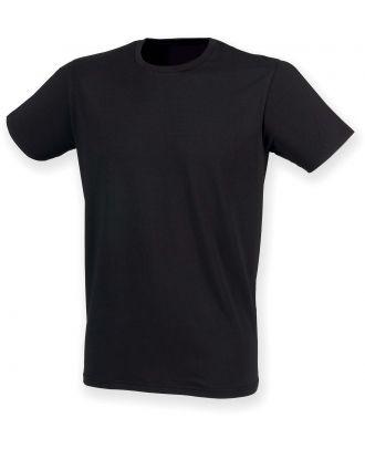 T-shirt homme col rond Feel Good SFM121 - Black