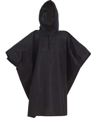 Poncho de pluie léger HVS470- Black
