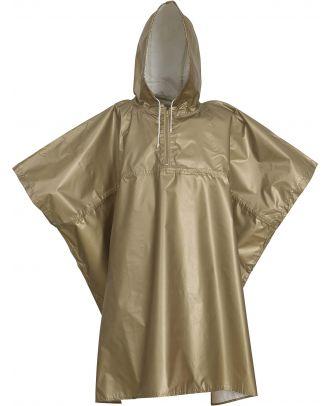 Poncho de pluie léger HVS470 - Gold