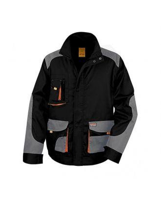 Veste de travail Lite R316X - Black / Grey / Orange